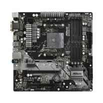 PLACA ASROCK B450M PRO4 AMD AM4 4DDR4 HDMI PCIE3.0 SATA3 USB3.1 ATX