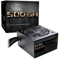 Fuente de Alimentacion EVGA 500 BR/ 500W/ Ventilador 12cm/ 80 Plus Bronze