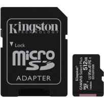 Tarjeta de Memoria Kingston CANVAS Select Plus 512GB microSD XC con Adaptador/ Clase 10/ 100MBs
