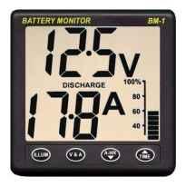 Panel de Monitorizacion de Baterias Nasa BM-1 para Baterias de 12V SHUNT 100