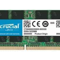 MEMORIA SODIMM 8GB DDR4 2666MHZ CRUCIAL CT8G4SFRA266