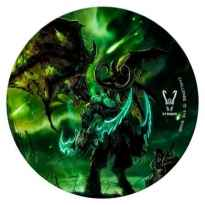 Alfombra Gaming Woxter Stinger Floorpad/ Verde