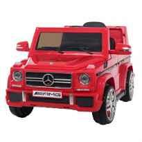 Coche Infantil Electrico Mercedes Benz G65 (Licencia Oficial) Rojo