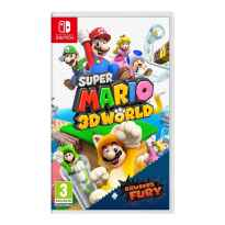 Juego nintendo switch - super mario 3d world + bowsers fury