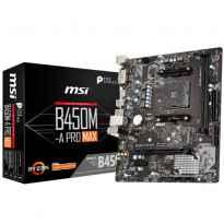 PB AMD SAMD4 MSI B450M-A PRO MAX 2DDR4/HDMI/VGA/MATX