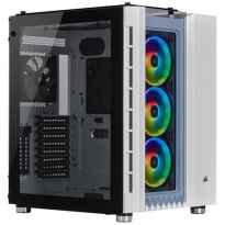 CAJA ATX SEMITORRE CORSAIR CARBIDE 680X RGB BLANCA CRISTAL TEMPLADO
