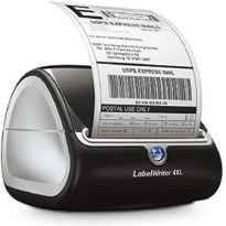 Impresora de Etiquetas Dymo LabelWriter 4XL S0904950/ Termica/ Ancho etiqueta 104mm/ USB/ Negra y Gris