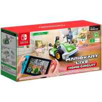 Juego nintendo switch - mario kart live: home circuit (luigi)
