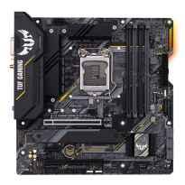 Placa base asus intel tuf gaming b460m - plus wifi soccket 1200 ddr4 x4 max 128gb 2933mhz display port hdmi dvi - d matx