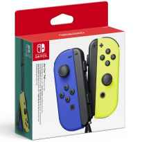 Accesorio nintendo switch - mando joy - con azul - amarillo neon