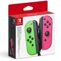 Accesorio nintendo switch - mando joy - con verde - rosa