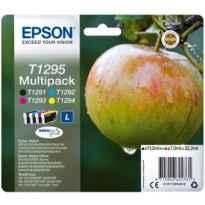 Multipack tinta epson c13t12954012 negro - cian - magenta - amarillo manzana