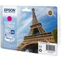Cartucho tinta epson t702340 magenta alta capacidad wp4000 - 4500 2400pag - torre eiffel