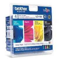 Multipack brother lc1100valbp dcp385 - 585 - j615w - j715w - mfc490cw - 790cw - 795cw - 990cw - 5490cn - 5890cn