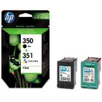 (2) C.t.HP #350 + #351 negro y color (pack-doble)