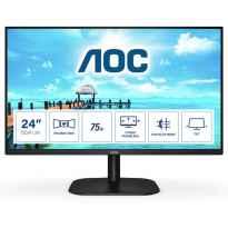MONITOR 23.8 IPS AOC 24B2XH/EU 1920x1080 FullHD(1080p) VGA HDMI NEGRO