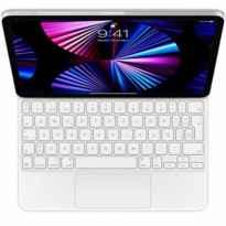 Teclado apple magic keyboard para ipad pro 11pulgadas (3rd generation) y ipad air (4rd generation) white mjqj3y - a - spanish -