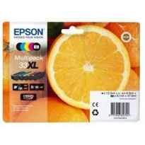 EPSON BK / C / M / Y MULTIPACK 5 COLORES EXPRESSION HOME XP-530, 630, 830 - 33XL