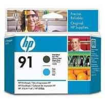 HP CABEZAL DE IMPRESION NEGRO MATE Y CIAN DESIGNJET Z6100 - Nº91