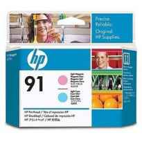 HP CABEZAL DE IMPRESION MAGENTA CLARO Y CIAN CLARO DESIGNJET Z6100 - Nº91