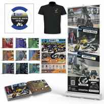 Gold Welcome Pack Merchandising