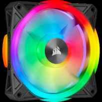 VENTILADOR CAJA ADICIONAL 14X14 CORSAIR QL140 RGB NEGRO PACK 2 UDS LIGTHING NODE