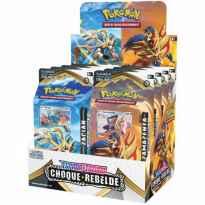 Baraja tematica de cartas nintendo pokemon espada y escudo choque rebelde 8 unidades