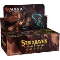 Draft booster wizard of the coast magic the gathering strixhaven: school of mages ingles