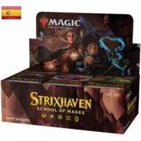 Draft booster wizard of the coast magic the gathering strixhaven: school of mages español
