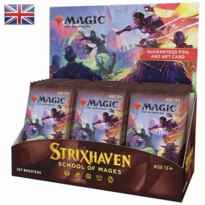 Caja de sobres wizard of the coast magic the gathering strixhaven: school of mages 30 sobres ingles