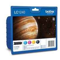 BROTHER CARTUCHO PACK 4 COLORES LC-1240CBP