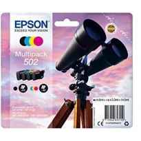 EPSON MULTIPACK 4-COLOURS 502 INK (XP-5100, XP-5105, WF-2860DWF, WF-2865DWF)