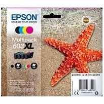 EPSON TINTA BK / C / M / Y XP-2100, 3100, 4100 / WF2830DWF, 2850DWF - 603XL
