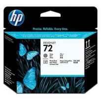 HP CABEZAL GRIS Y NEGRO FOTOGRAFICO DESIGNJET T610/1100 - Nº72