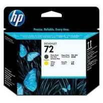 HP CABEZAL NEGRO MATE Y AMARILLO DESIGNJET T610/1100 - Nº72
