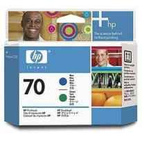 HP CABEZAL DE IMPRESION AZUL Y VERDE DESIGNJET Z3100 - Nº70