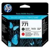 HP CABEZAL NEGRO MATE/ROJO CROMATICO DESIGNJET 771