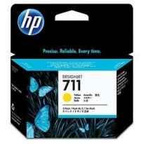 HP TINTA AMARILLO DESIGNJET T120/T520 - Nº711 (PACK 3)