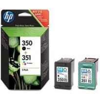 HP TINTA NEGRO + TRICOLOR (C/M/Y) DESKJET 4260/D4200, PHOTOSMART C4200 - Nº351 (PACK 4 COLORES)
