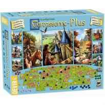 Juego de mesa devir carcassonne plus juego basico & 11 expansiones