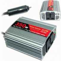 INVERSOR COCHE 12V A 220V 350W +USB 5V DC