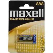 PILAS ALCALINAS AAA LR03 B2 1.5V PACK 2 UND MAXELL