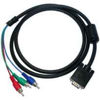 CABLE EXTENSOR RCA MEDIANTE CABLE VGA