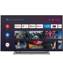 "TV TOSHIBA 50UA3A63DG 50"" UHD SMART ANDROIDTV WIFI USB HDMI GOOGLE ASSISTA CHOM"