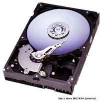 """DISCO DURO HDD 3.5"""" IDE 123.5GB IBM 07N9219"""