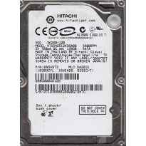 "HDD 2.5"" HITACHI 120GB SATA3 HTS542512K9SA00"