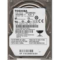 "DISCO DURO 2.5"" SATA 250GB TOSHIBA MK2561GSYN 9MM"